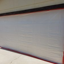 Arizona-Total-Home-Restoration-Asbestos-Abatement Seal-Garage-Door