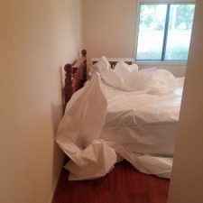 Arizona-Total-Home-Restoration-Mesa-AZ-Popcorn-Ceiling-Removal-Before-Preparation-Covering-Furniture