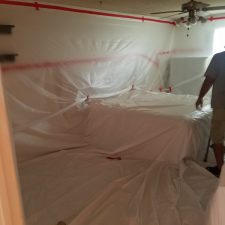 Arizona-Total-Home-Restoration-Mesa-AZ-Popcorn-Ceiling-Removal-Walls-Covered-with-Plastic-2