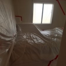 Arizona-Total-Home-Restoration-Mesa-AZ-Popcorn-Ceiling-Removal-Walls-Covered-with-Plastic