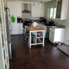 Complete Kitchen Redesign, After Flood Damage, Mesa AZ