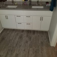 Mesa Arizona, Water Damage Repair, Master Bathroom Vanity