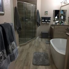 Full bathroom remodel, After picture, Scottsdale AZ, Insurance Claim