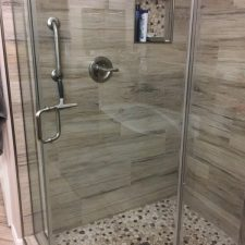Scottsdale Tile Shower Remodel, Master Bathroom
