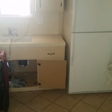 Kitchen Flood, Surprise AZ, Before Pic