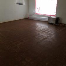 Asbestos VCT abatement, living room, Scottsdale AZ, after