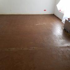 Asbestos Vinyl floor removal, Scottsdale AZ, After
