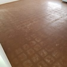 Black Mastic Removal, Living Room, Scottsdale Arizona, after picture