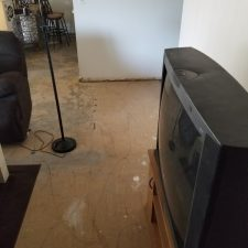 VCT Abatement, Scottsdale Arizona, Before Picture, Living Room