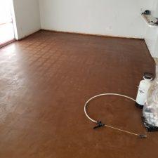 VCT tile removal, Scottsdale, AZ dining room, after