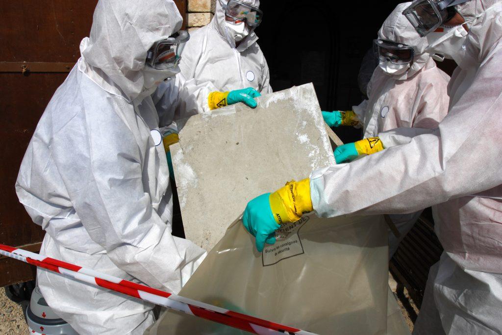 Asbestos Removal Water Damage Drywall - AZ Total Home Restoration