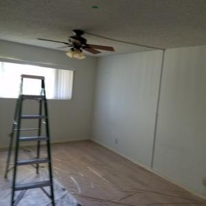 Arizona Total Home Restoration - Mesa, AZ - Asbestos Abatement - Before