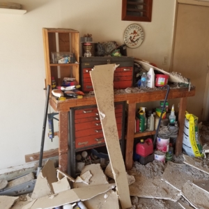 Arizona Total Home Restoration - Mesa, AZ - Asbestos Abatement - Ceiling Removal 2