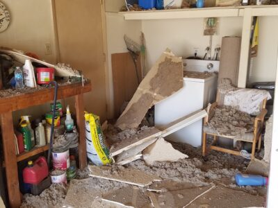 Arizona Total Home Restoration - Asbestos Abatement - Ceiling Removal 1