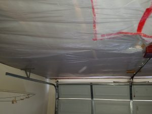 Arizona Total Home Restoration -Mesa, AZ - Asbestos Abatement - Seal Garage Ceiling