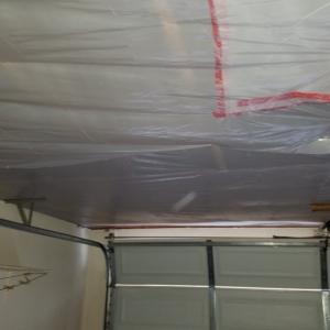Arizona Total Home Restoration - Mesa, AZ - Asbestos Abatement - Seal Garage Ceiling