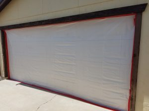 Arizona Total Home Restoration - Mesa, AZ - Asbestos Abatement - Seal Garage Door