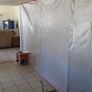 Arizona Total Home Restoration - Asbestos Abatement - Sealing Area
