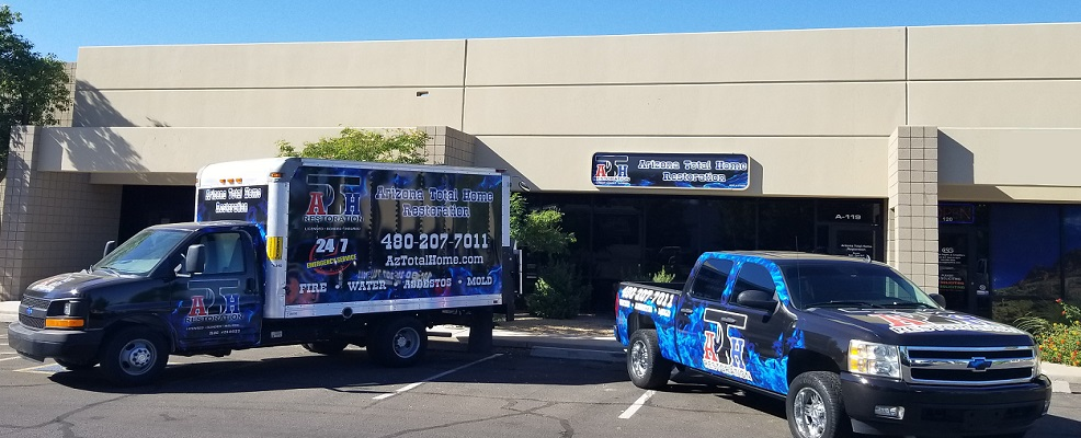 Arizona Total Home Restoration Vehicles - Mesa AZ Location