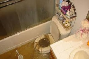 Sewage Damage CAT 3 Wastewater - AZ Total Home Restoration - Phoenix AZ
