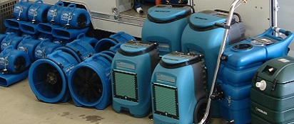Water Damage Air Scrubbers - Arizona Total Home Restoration - Mesa AZ