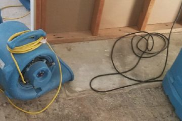 AZ Total Home Restoration Water Damage Repair Equipment