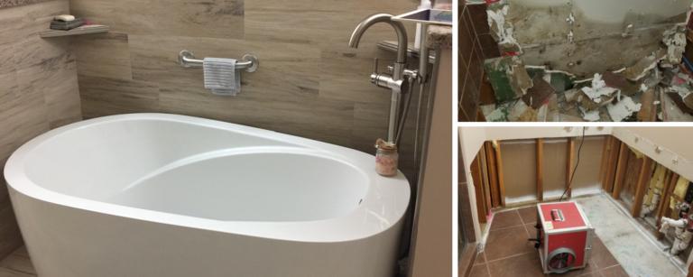 Water Damage, Mold Remediation, Bathroom Remodel Services - Glendale, AZ