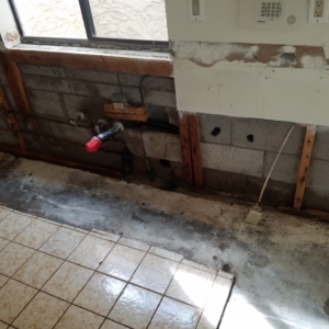 AFTER DEMOLITION: Antimicrobial Application to Kill Microorganisms Such as Bacteria, Viruses, Protozoans, Mildew, and Mold.