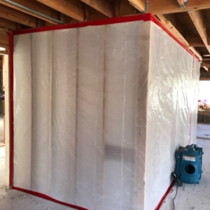 Asbestos Abatement, Containment, Industrial, PPE
