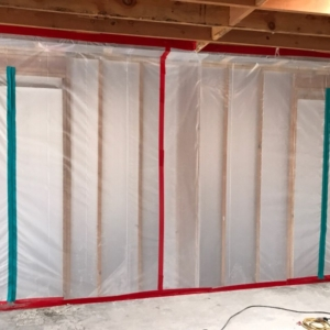 Asbestos Containment, Commercial Property, Scottsdale, Az