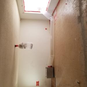 AFTER:  VCT Black Mastic Asbestos Abatement in Living Room - Scottsdale, AZ