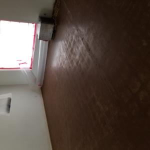AFTER: Black Mastic Asbestos Removal in Living Room - Scottsdale, AZ