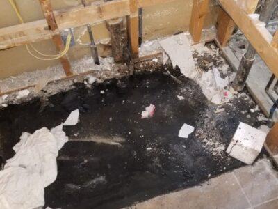 Bathroom Plumbing Leak - Water Damage - Apache Junction, AZ