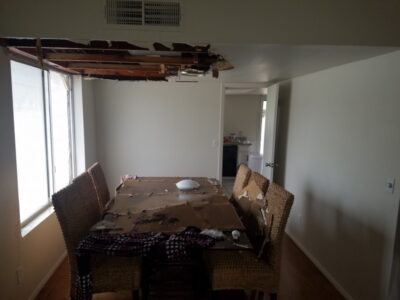 Ceiling-Collapse-Pipe-Brake-Mesa-AZ-Dining-Room-