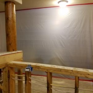 Containment-During-Kitchen-Demo-Water-Damage-Restoration-Chandler-AZ
