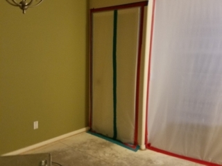 Containment-During-Mold-Remediation-Chandler-AZ