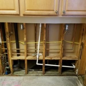 Demo-of-Kitchen-After-CAT3-Flooding-Water-Damage-Repair-Chandler-AZ