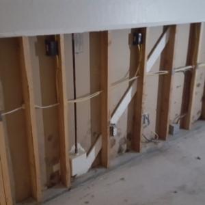 Demolition-Begins-in-Master-Bedroom-After-Home-was-Flooded-Water-Damage-Restoration-Chandler-AZ