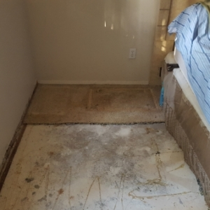 Demolition-Remove-Carpet-in-Master-Bedroom-Water-Damage-Restoration-Chandler-AZ