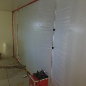 Garage Asbestos Abatement, Containment, Neg Air, Fountain Hills AZ