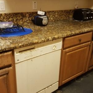 Kitchen-After-Sewage-Backup-Water-Damage-Restoration-and-Mold-Remediation-Chandler-AZ