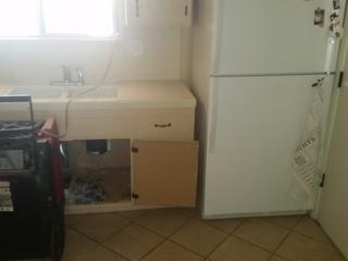 Kitchen Flood, Surprise AZ, Before Pic