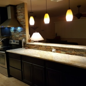 Kitchen remodel, Water Damage, Surprise AZ, After