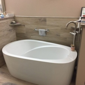 Stand Alone Bathtub, After picture, Scottsdale, AZ