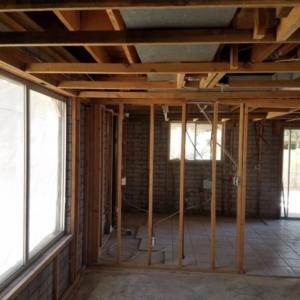 Toilet Leak, Water From Above, House Gut, Mesa Az