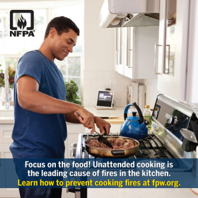 Unattended Food is Leading Cause of Kitchen House Fires - Fire Damage - Mesa AZ - Arizona Total Home Restoration 400x400