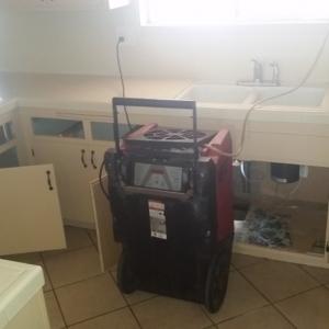 Water Damage, CAT 3, Drain Leak, Before Picture, Surprise AZ