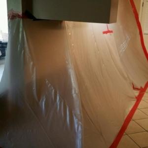 Water Leak, Asbestos Abatement, Containment, Surprise Arizona
