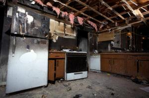 Smoke Smell Removal in Kitchen After House Fire - Phoenix - AZ Fire Damage Restoration