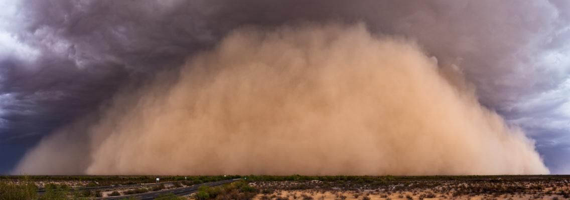 Arizona Dust Storm Damage - ATH Restoration